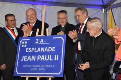 Fondation Jean Paul Ii En France Hommages Publics